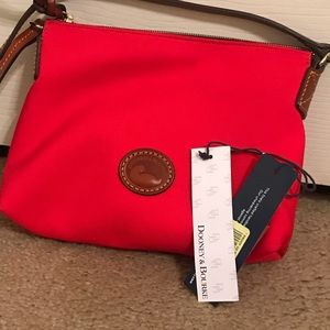 Red Dooney and Bourke Crossbody NWT